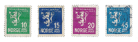 Norge 1925 - AFA 114/17 - Stemplet