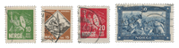 Norway 1930 - AFA 155/58 - Cancelled