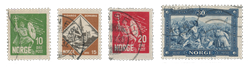 Norge 1930 - AFA 155/58 - Stemplet