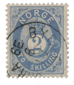 Norway 1872-75 - AFA 17a - Cancelled