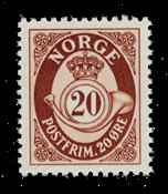 Norge 1950-51 - AFA 372 - Postfrisk