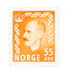 Norge 1950-51 - AFA 378 - Postfrisk
