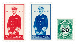 Norge 1952 - AFA 390/92 - Postfrisk