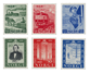 Norge 1954 - AFA 398/403 - Postfrisk