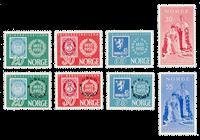 Norway 1955 - AFA 404/09 + 416/17 - Mint