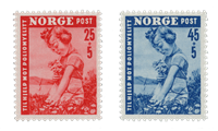 Norway 1950 - AFA 365/66 - Mint