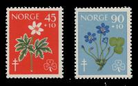 Norge 1960 - AFA 453/54 - Postfrisk