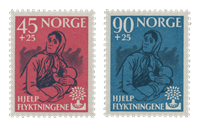 Norway 1960 - AFA 457/58 - Mint
