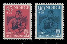 Norge 1960 - AFA 457/58 - Postfrisk