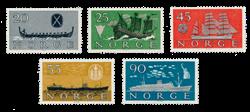 Norge 1960 - AFA 459/63 - Postfrisk