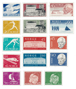 Norway 1961 - AFA 465/79 - Mint