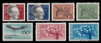 Norway 1962 - AFA 480/84 + 490/91 - Mint