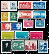 Norway 1963 - AFA 502/16 + 522/25 - Mint
