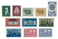 Norway 1964 - AFA 526/36 - Mint
