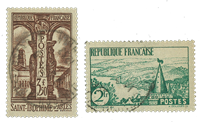 France 1935 - YT 301-02 - Cancelled