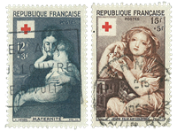 France 1954 - YT 1006-07 - Cancelled
