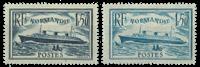 France 1935 - YT 299/300 - Unused