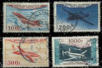 France 1954 - YT A30-33 - Cancelled