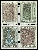 Laos 1967 - YT 149-52 - Mint
