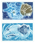 Fransk Antarktis - TAAF PA49-50 tele målinger - postfrisk