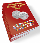 EURO-LUETTELO 2017 - Kolikot ja setelit