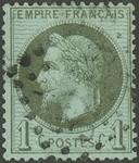 Frankrig - YT 25 - Stemplet