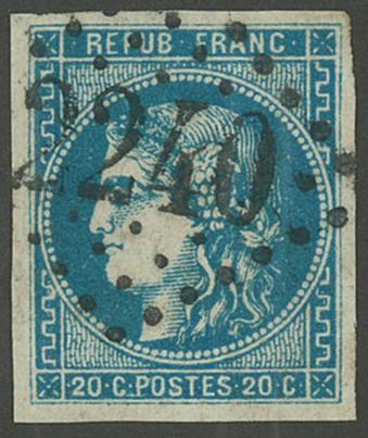 Frankrig - YT 46B - Stemplet