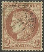 Frankrig - YT 51 - Stemplet