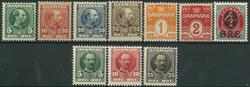 Danmark - 1905-07