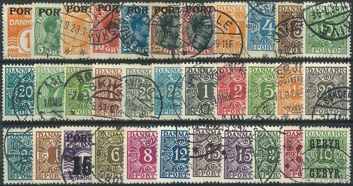 Danmark - Porto - 1921-55