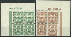 Danmark - Gebyr - 1926-30