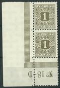 Danmark - Avisporto - 1914