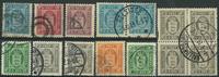 Danmark - Tjeneste - 1875-1915