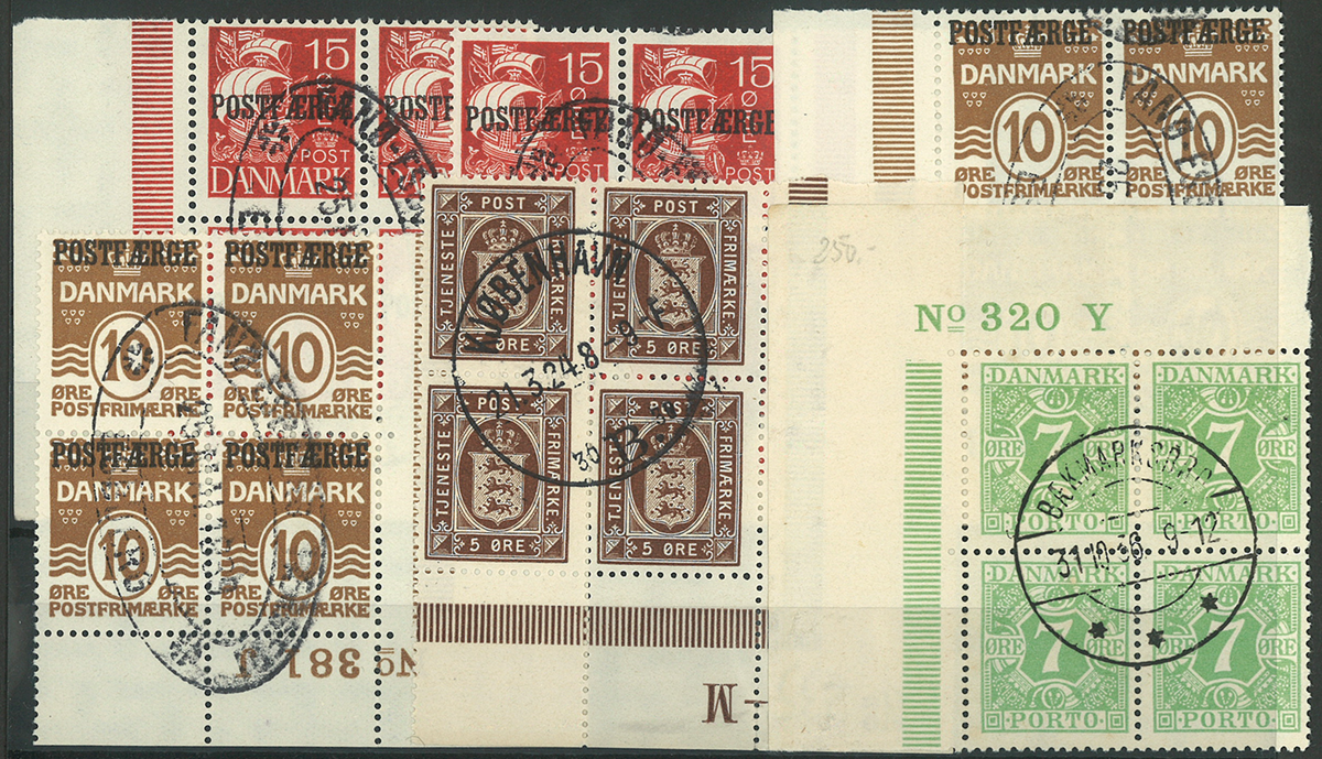 Danmark - Postfærge/Porto