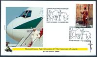 Vatican - 5 envelopes - The Pope's journeys