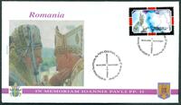 Vatikanet - 6 kuverter - Pavens rejser