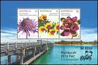 Australia - Mandurah Exhibition 2016 - Mint souvenir sheet