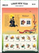 Christmas Island - Zodiac - Mint souvenir sheet