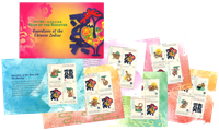 Christmas Island - Year of Rooster, Chinese New Year - Prestige booklet