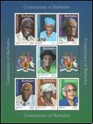 Barbados - Personalities 2016 - Mint souvenir sheet