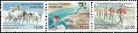 Grønland - Sport i Grønland - Postfrisk sæt 3v