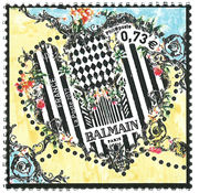 France - Balmain/Heart - Mint stamp
