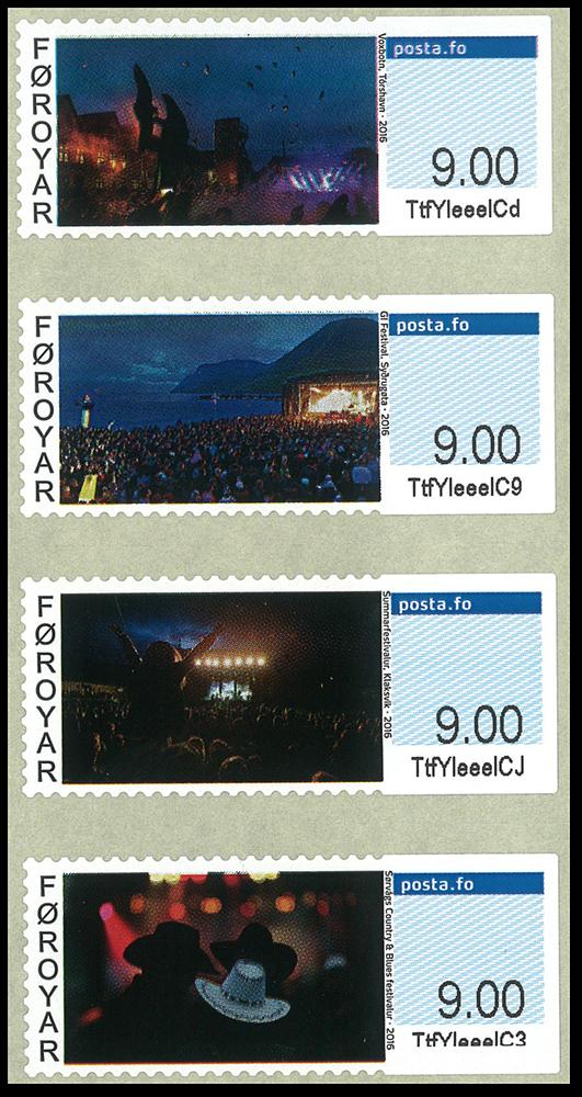 Færøerne - Frama 2016 - Postfrisk sæt 4v