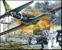 Marshall Islands - 75 years of Pearl Harbor - Mint souvenir sheet