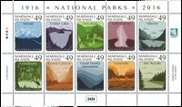 Marshall Øerne - Nationalparker - Postfrisk sæt 10v