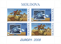 Moldova - Europa Cept 08, The Letter - Mint booklet