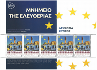 Holland - Europas hovedstæder Cypern Nicosia - Postfrisk miniark