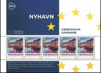 Holland - Europas hovedstæder Danmark København - Postfrisk miniark