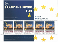 Holland - Europas hovedstæder Tyskland Berlin - Postfrisk miniark