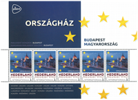 Holland - Europas hovedstæder Ungarn Budapest - Postfrisk miniark